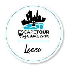 logo lecco ita_escape tour_fuga dalla citta_lecco